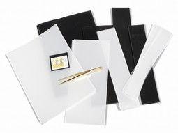 Bandes au poids pour la protection de timbres collection, à fond noir ou transparent.