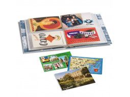 Classeurs pour cartes postales, rangements et enveloppes premier jour.