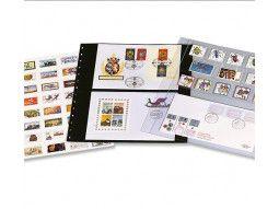 Les feuilles Garant Safe pour mettre en valeur collection de timbres, enveloppes, cartes, carnets, enveloppes.