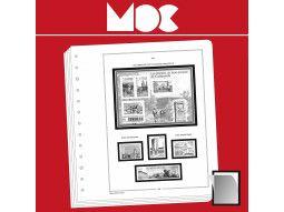 Album philatélique Moc pour collectionner les timbres de Monaco dans une présentation de qualité.