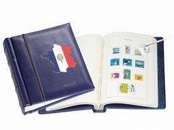 Album pré imprimé Leuchtturm pour votre collection de timbres-poste.