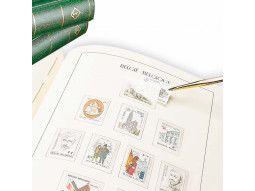 Albums pré imprimés Leuchtturm France avec pochettes pour collection de timbres.