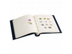 Albums Leuchtturm pour présenter collection de timbres de France sans pochettes.