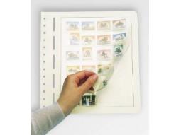 Les feuilles LB Leuchtturm, pour votre collection de timbres