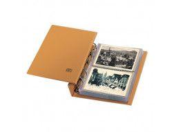 Album Compact Safe pour collectionner cartes postales, FDC, enveloppes premier jour.