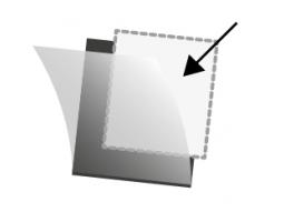 Pochettes Hawid simple soudure pour protéger les timbres de collection.