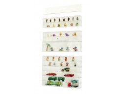 Vitrine pour collection d'objet, miniatures, fossiles, modèles réduits