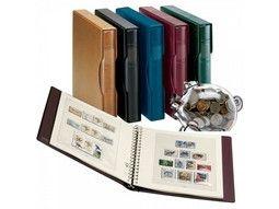 Albums préimprimées Lindner-T pour collectionner les timbres du monde.
