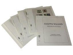 Album Lindner-t pour collectionner les timbres d'Allemagne parus depuis 1849 à nos jours.