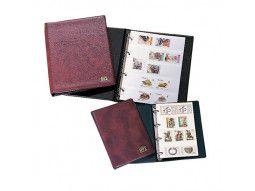 Classeurs, albums de poche pour échanges, ventes, transport de timbres.