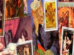 Pochettes de timbre thématique sur les arts mondiaux sélectionnées avec soin pour compléter votre collection.