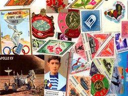 Pochettes de timbres thématiques insolites sélectionnées avec soin pour compléter votre collection.