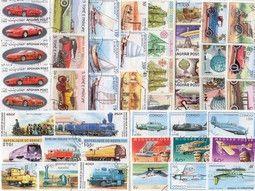 Pochettes de timbres thématiques sur les transports sélectionnées avec soin pour compléter votre collection.