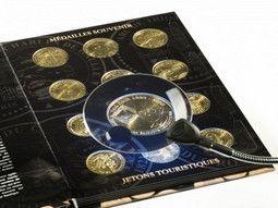 Rangement pour votre collection de médailles et de jetons touristiques