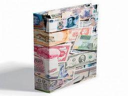 Albums pour collectionner, présenter les billets de banques avec élégance.