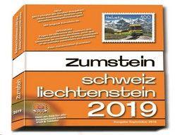 Catalogue Zumstein - Cotation de timbres de Suisse et du Liechtenstein