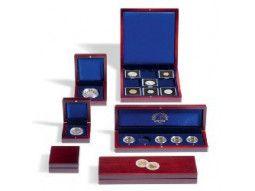 Écrins Volterra Leuchtturm pour mettre en valeur monnaies collection.