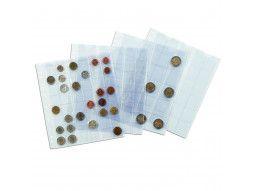 Les feuilles Numis Leuchtturm protègent les monnaies de collection, des influences extérieures.