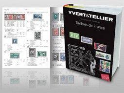 Catalogues de cotation de timbres de France par Yvert et Tellier pour connaitre la valeur de vos timbres.