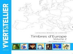 Catalogue de cotation de timbres d'Europe par Yvert et Tellier pour classer votre collection.