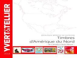 Catalogue de cotation de timbres de contient Amérique par Yvert et Tellier.
