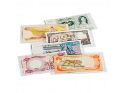 Pochettes, étuis individuels de protection pour billets de banques.