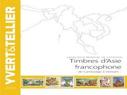 Catalogue de cotation de timbres d'Asie, Chine, Japon par Yvert et Tellier pour classer votre collection.