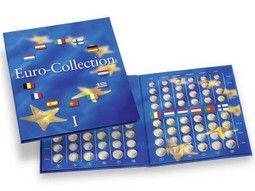 Albums, coffrets, capsules pour pièces d'euro collection et divers accessoires pour numismates.