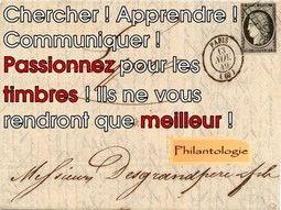 Timbres de collection de France et de tous pays pour votre collection.