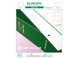 Jeu FE Europa Yvert et Tellier pour collectionner les timbres d'Europa Cept dans un album pratique.