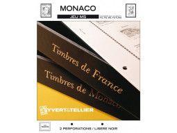 Jeu MS Monaco Yvert et Tellier pour collectionner les timbres de Monaco dans un album pratique.