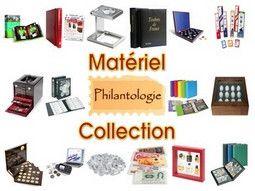 Classeur numismatique et autres objets de rangements pour collections