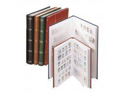 Classeurs fixes à bandes Lindner pour votre collection de timbres-poste.