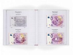 Albums, étuis de protection pour billets Euro Souvenir désormais très demandée.