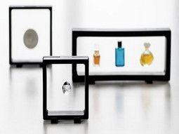 Cadres flottants Magic Frame pour présenter vos objets de collection, Leuchtturm.