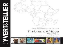 Catalogues de cotation de timbres d'Afrique par Yvert et Tellier.