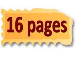 Albums, classeurs 16 pages noires ou blanches pour collection de timbres-poste.