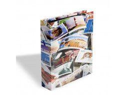 Classeurs à motifs pour des jeunes collectionneurs qui débutent une collection de timbres.