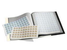 Albums pour ranger, stocker les feuilles entières de timbres-poste ou tout autre document.