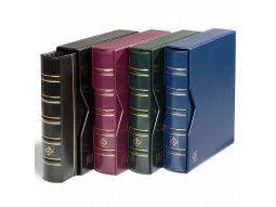 Albums mobiles conçus pour le classement de timbres, blocs, feuillets, cartes postales, enveloppes.