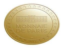 Jetons touristiques - médailles souvenir Monnaie de Paris collection.