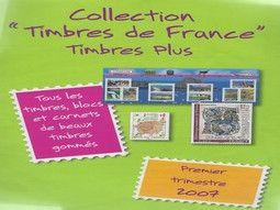 Années complètes de timbres de France neufs gomme d'origine intacte pour votre collection.